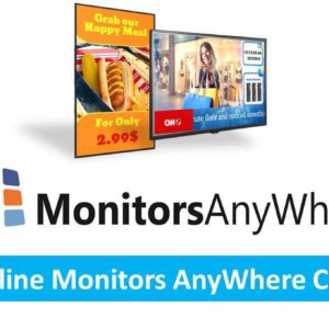 Online Monitors Anywhere CMS