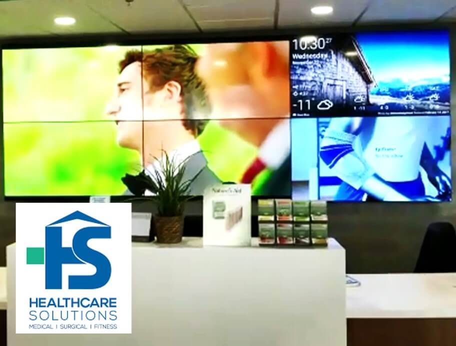Healthcare Solution Install Video Walls