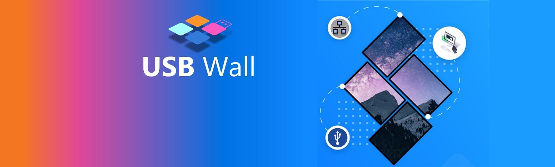 Monitors AnyWhere USB Wall for Header